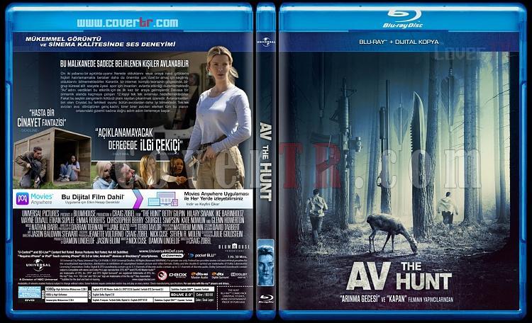 The Hunt (Av) - Custom Bluray Cover - Türkçe [2020]-huntjpg