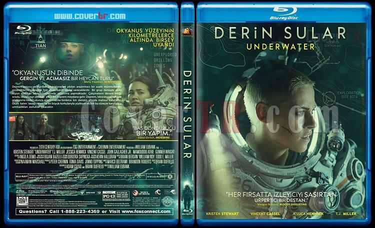 Underwater (Derin Sular) - Custom Bluray Cover - Türkçe [2019]-underwaterjpg