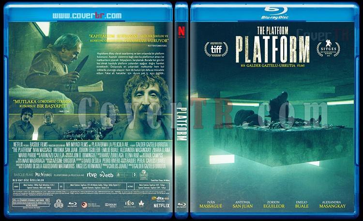 The Platform (Platform) - Custom Bluray Cover - Türkçe [2020]-platformjpg