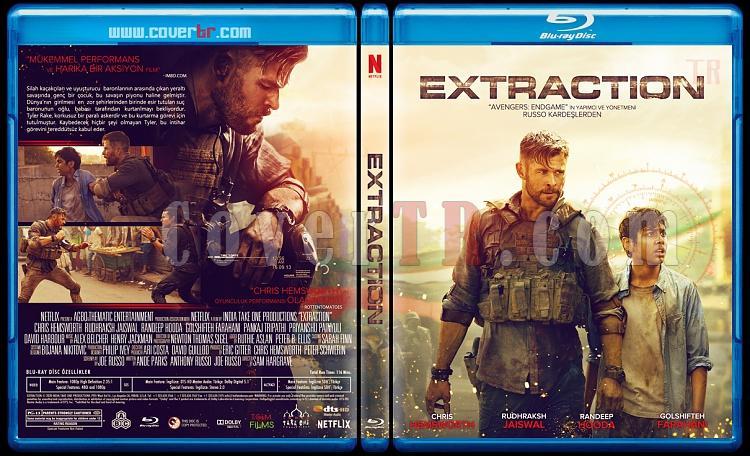 Extraction - Custom Bluray Cover - Türkçe [2020]-extractionjpg