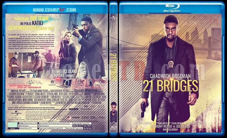 21 Bridges - Custom Bluray Cover - Türkçe [2020]-21-bridges-yellowjpg