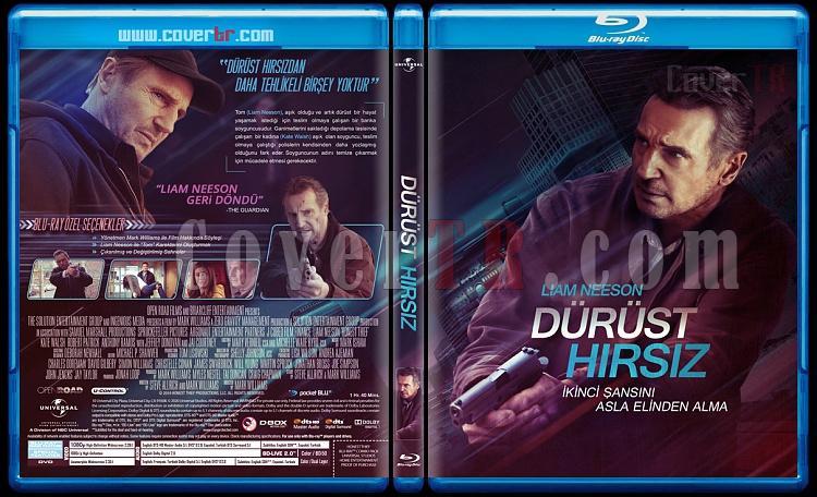 Honest Thief (Dürüst Hırsız) - Custom Bluray Cover - Türkçe [2020]-honest-thiefjpg