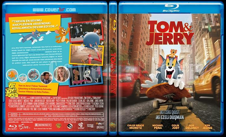 Tom & Jerry - Custom Bluray Cover - Türkçe [2021]-tom-jerryjpg
