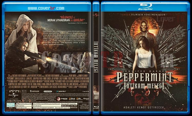 Peppermint (İntikam Meleği) - Custom Bluray Cover - Türkçe [2018]-peppermintjpg