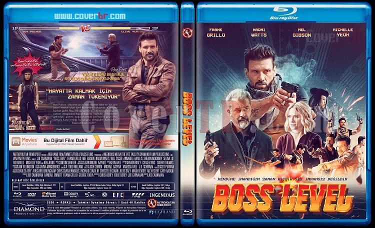 Boss Level - Custom Bluray Cover - Türkçe [2021]-boss-leveljpg