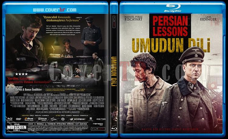Persian Lessons (Umudun Dili) - Custom Bluray Cover - Türkçe [2020]-persian-lessonsjpg