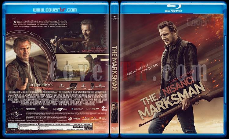 The Marksman (Nişancı) - Custom Bluray Cover - Türkçe [2021]-marksmanjpg
