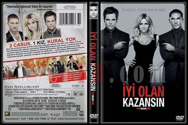 This Means War (İyi Olan Kazansın) - Custom Dvd Cover - Türkçe [2012]-standardjpg