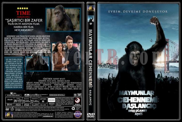 Rise of the Planet of the Apes (Maymunlar Cehennemi: Başlangıç) - Custom Dvd Cover - Türkçe [2011]-maymunlar-cehenemi-picjpg