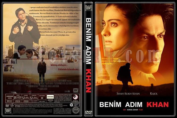My Name is Khan (Benim Adım Khan) - Custom Dvd Cover - Türkçe [2010]-v2jpg
