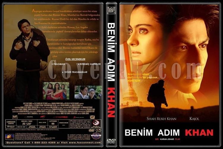 My Name is Khan (Benim Adım Khan) - Custom Dvd Cover - Türkçe [2010]-standardjpg