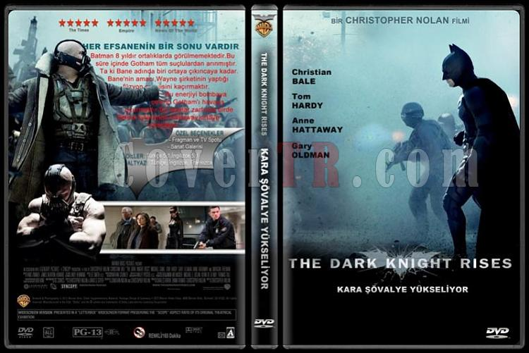 The Dark Knight Rises (Kara Şövalye Yükseliyor) - Custom Dvd Cover - Türkçe [2012]-standardjpg