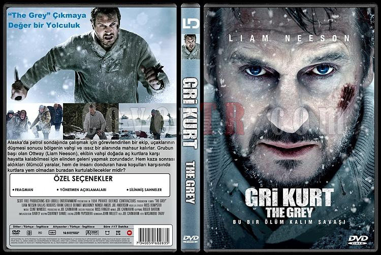 The Grey  (Gri Kurt) - Custom Dvd Cover - Türkçe [2011]-gri-kurtthe-greyjpg