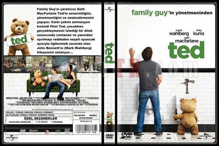 Ted - Custom Dvd Cover - Türkçe [2012]-tedjpg