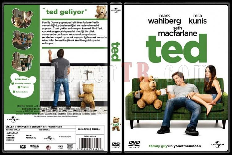 Ted - Custom Dvd Cover - Türkçe [2012]-standardjpg