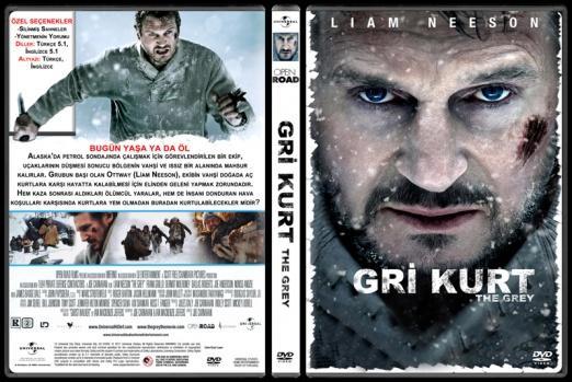 The Grey (Gri Kurt) - Custom Dvd Cover - Türkçe [2011]-grijpg