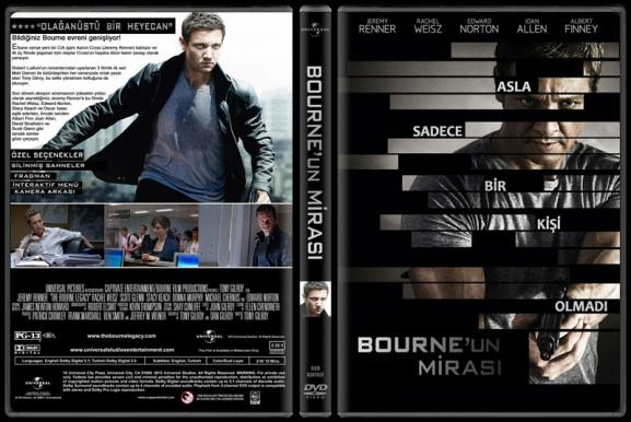 The Bourne Legacy (Bourne'un Mirası) - Custom Dvd Cover - Türkçe [2012]-standardjpg