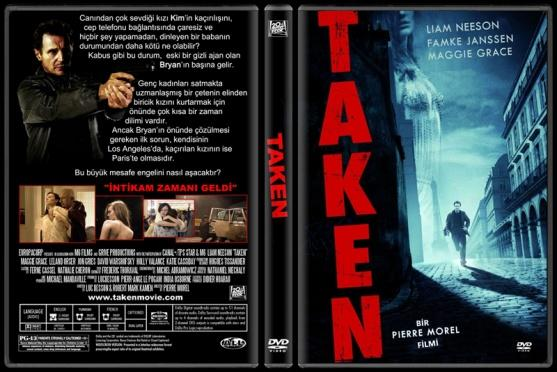 Taken (96 Saat) - Custom Dvd Cover - Türkçe [2008]-takenjpg
