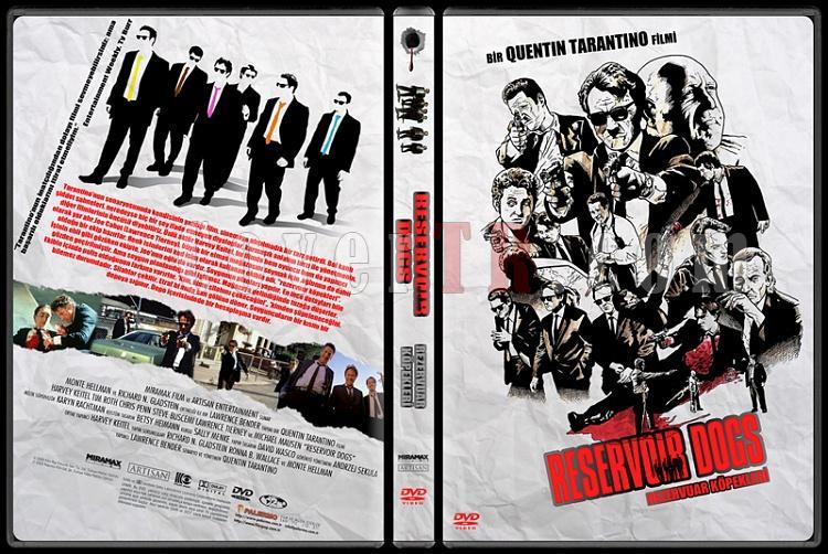 Reservoir Dogs (Rezervuar Köpekleri) - Custom Dvd Cover - Türkçe [1992]-20jpg