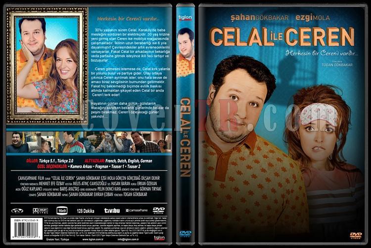 Celal ile Ceren - Custom Dvd Cover - Türkçe [2013]-celaljpg