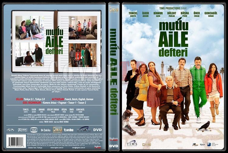 Mutlu Aile Defteri - Custom Dvd Cover - Türkçe [2013]-standardjpg