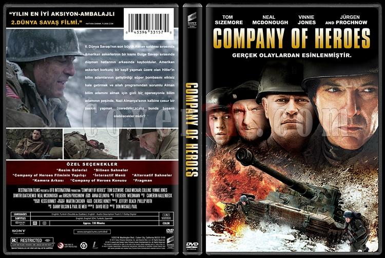Company Of Heroes Custom Dvd Cover Turkce 2013 Covertr