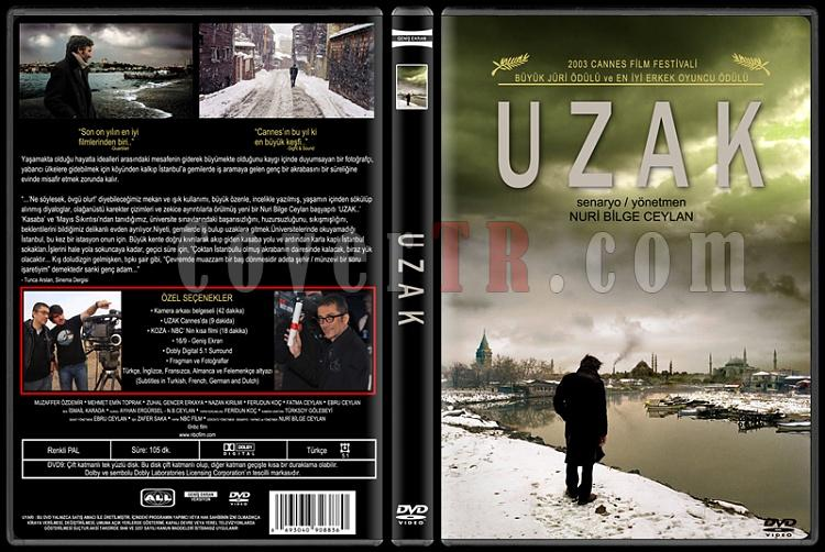 Uzak (Distant) - Custom Dvd Cover - Türkçe [2002]-uzak-distant-custom-dvd-cover-turkce-2002jpg