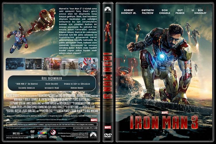 Iron Man 3 (Demir Adam 3) - Custom Dvd Cover - Türkçe [2013]-iron-man-3-dvd-cover-rd-cd-turkce-v1-picjpg