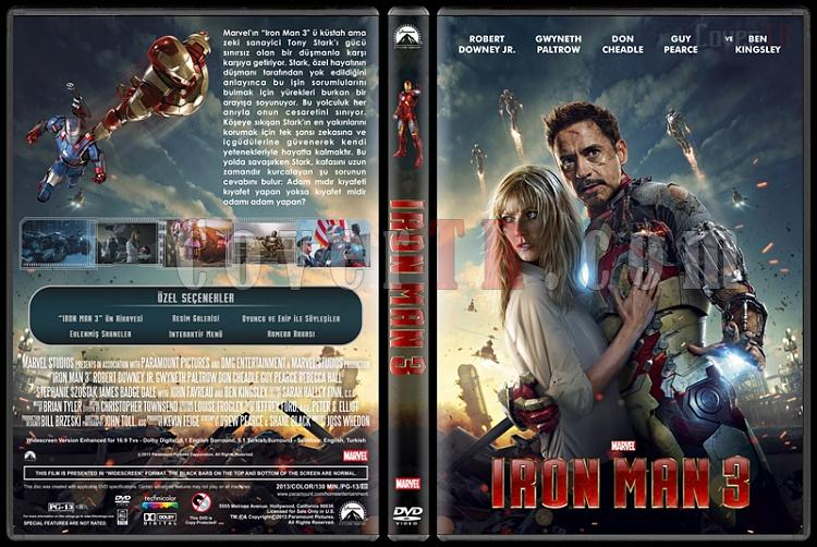Iron Man 3 (Demir Adam 3) - Custom Dvd Cover - Türkçe [2013]-iron-man-3-dvd-cover-rd-cd-turkce-v2-picjpg