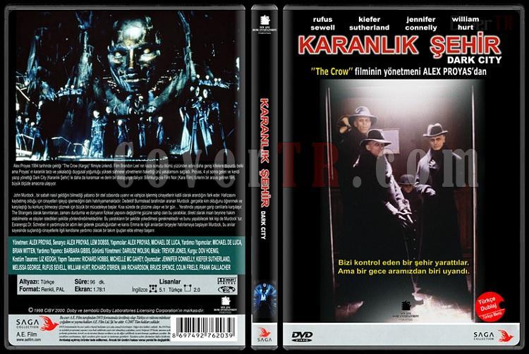 Dark City (Karanlık Şehir) - Custom Dvd Cover - Türkçe [1998]-dark-city-karanlik-sehirjpg