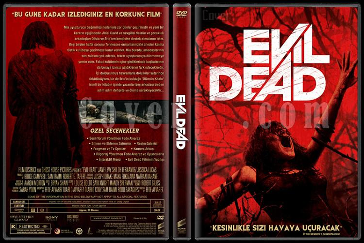 Evil Dead (Kötü Ruh) - Custom Dvd Cover - Türkçe [2013]-evil-dead-izlemejpg