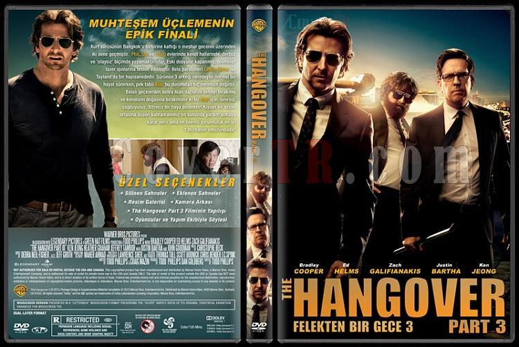 The Hangover Part 3 (Felekten Bir Gece 3) - Custom Dvd Cover - Türkçe [2013]-3jpg