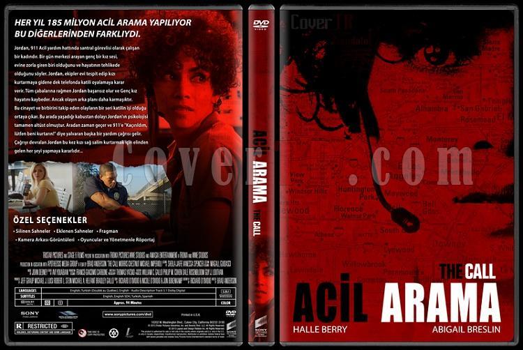 The Call (Acil Arama) - Custom Dvd Cover - Türkçe [2013]-acil-arama-trjpg