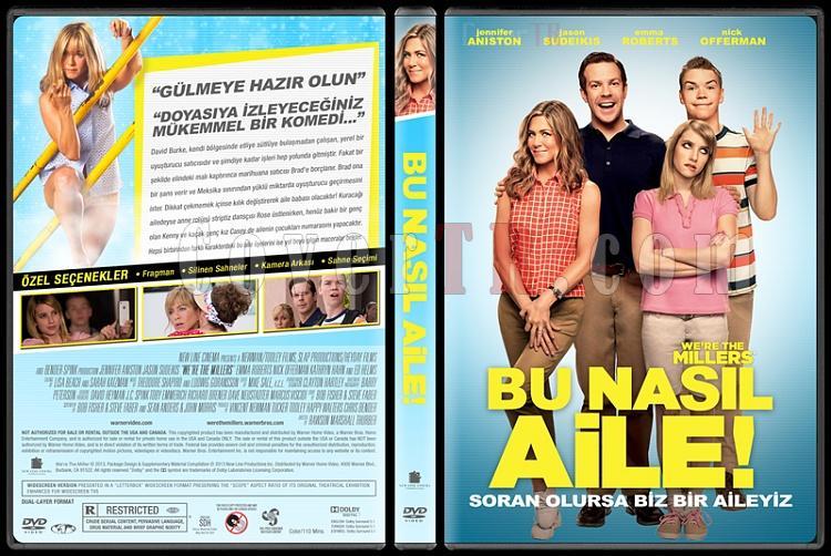 We're the Millers (Bu Nasıl Aile) - Custom Dvd Cover - Türkçe [2013]-bu-nasil-aile-izlemejpg