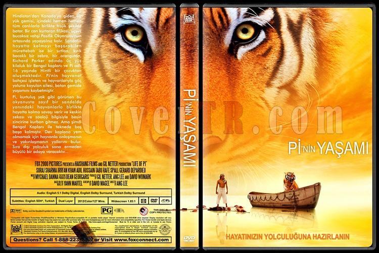 Life of Pi (Pi'nin Yaşamı) - Custom Dvd Cover - Türkçe [2012]-pinin-yasamijpg