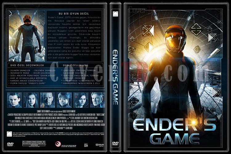 Ender's Game (Uzay Oyunları) - Custom Dvd Cover - Türkçe [2013]-standardjpg