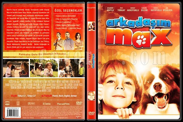 Arkadaşım Max - Custom Dvd Cover - Türkçe [2013]-2jpg