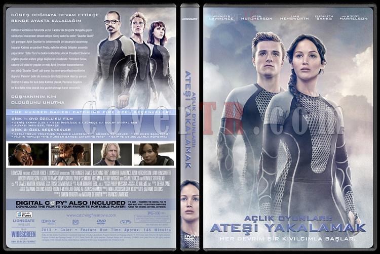 The Hunger Games: Catching Fire (Açlık Oyunları: Ateşi Yakalamak) - Custom Dvd Cover - Türkçe [2013]-4jpg