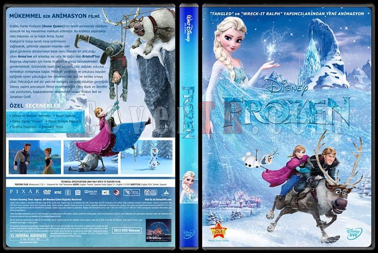 Frozen (Karlar Ülkesi) - Custom Dvd Cover - Türkçe [2013]-trjpg