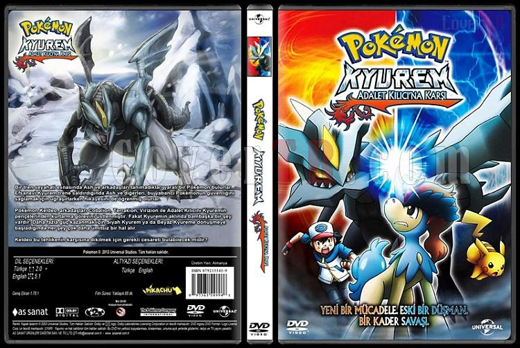 Pokemon: Kyurem vs. the Sword of Justice (Pokemon: Kyurem Adalet Kılıcına Karşı) - Custom Dvd Cover - Türkçe [2013]-pokemon-kyurem-vs-sword-justicejpg