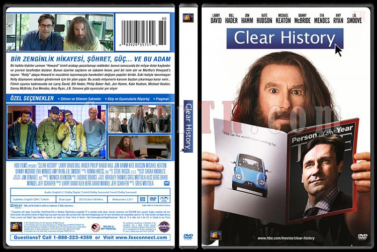 Clear History (Geçmişi Temizle) - Custom Dvd Cover - Türkçe [2013]-trjpg