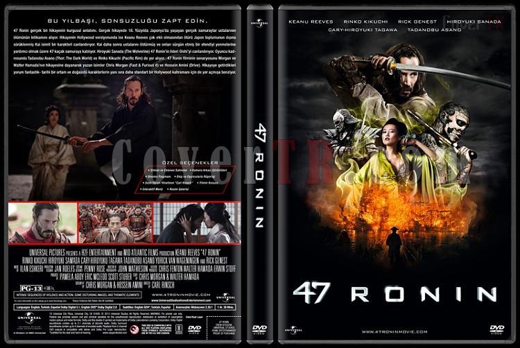 47 Ronin - Custom Dvd Cover - Türkçe [2013] - CoverTR