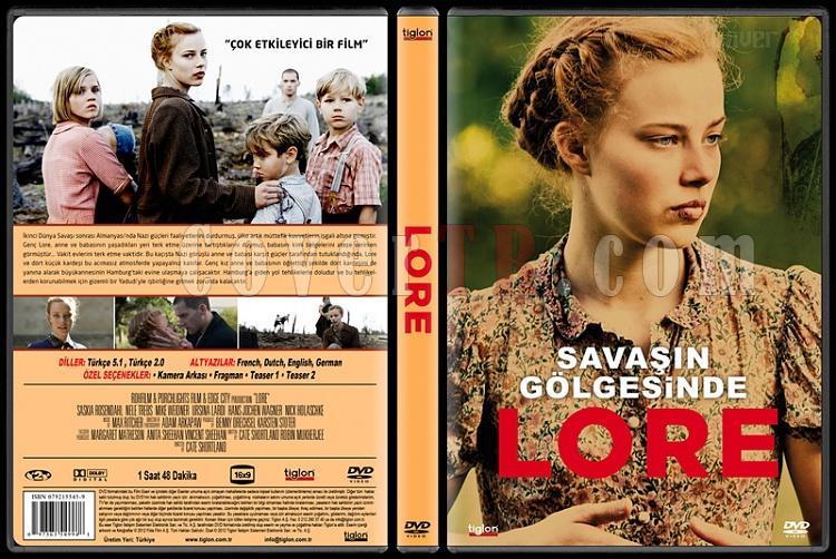 Lore (Savaşın Gölgesinde) - Custom Dvd Cover - Türkçe [2012]-covertr-dvdjpg