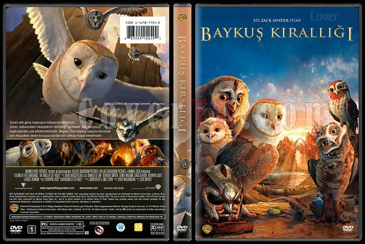 Legend of the Guardians (Baykuş Krallığı Efsanesi) - Custom Dvd Cover - Türkçe [2010]-baykusjpg