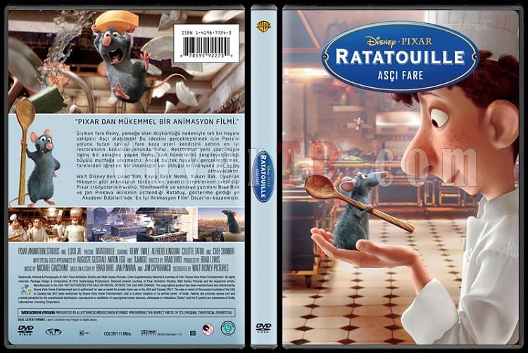 Ratatouille  (Aşçı Fare) - Custom Dvd Cover - Türkçe [2007]-farejpg