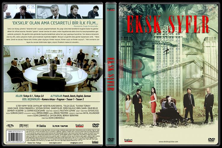 Eksik Sayfalar - Custom Dvd Cover - Türkçe [2012]-eksikjpg
