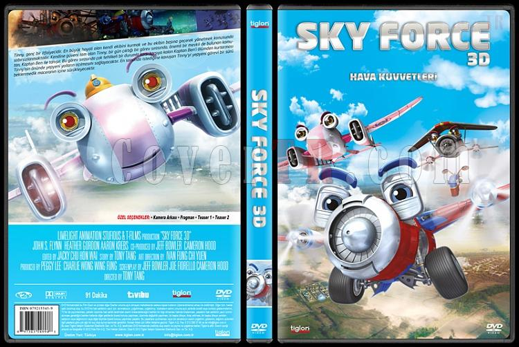 Sky Force 3D - Custom Dvd Cover - Türkçe [2012]-covertr-dvdjpg