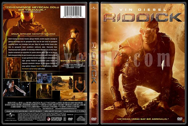 Riddick - Custom Dvd Cover - Türkçe [2013]-covertr-dvdjpg