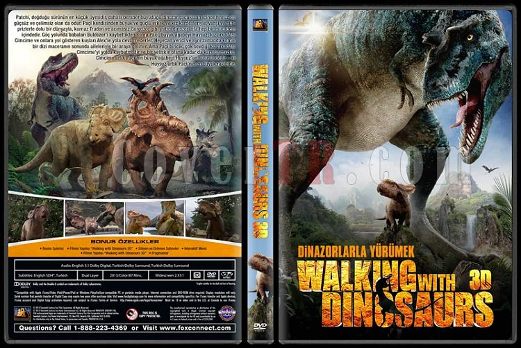 Walking with Dinosaurs 3D (Dinozorlarla Yürümek 3D) - Custom Dvd Cover - Türkçe [2013]-dinazorjpg