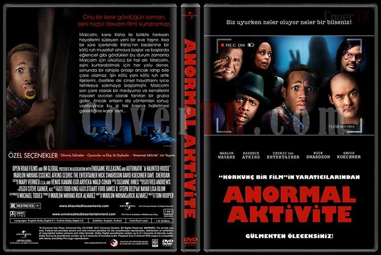 A Haunted House (Anormal Aktivite) - Custom Dvd Cover - Türkçe [2013]-haunted-house-anormal-aktivitejpg